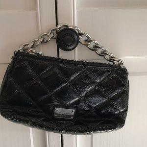 Michael Kors small patent leather black purse